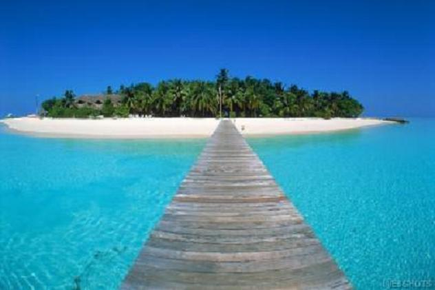 Boardwalk to Island